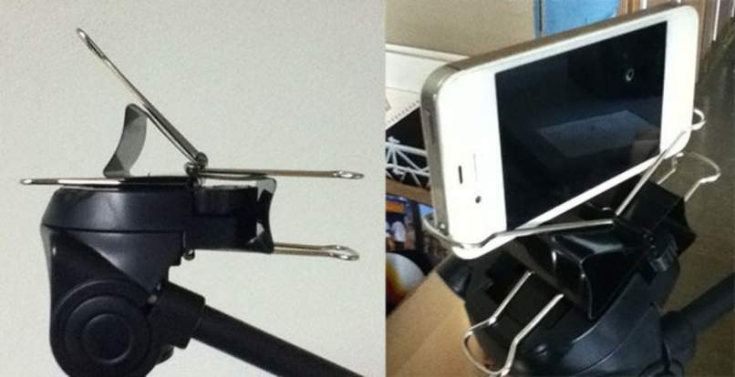 clips celular base negros
