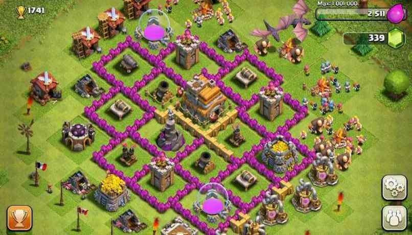 desafio  Clash of Clans