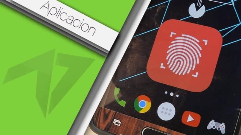 bloqueo de huella digital para android