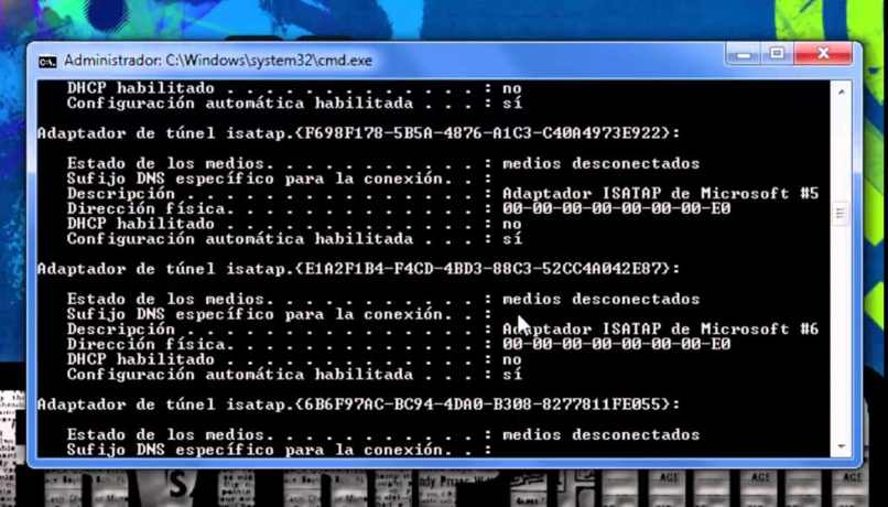 buscar direccion mac linux