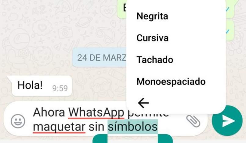 diferentes estilos letras para whatsapp