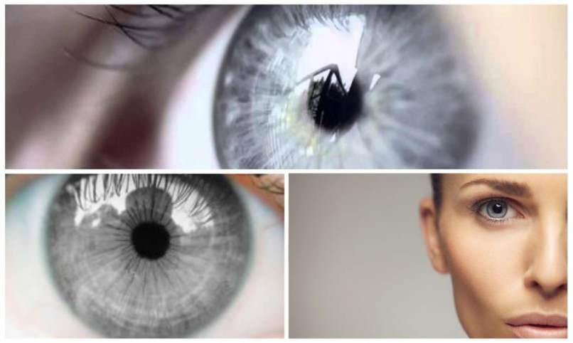 ojos gris natural edicion