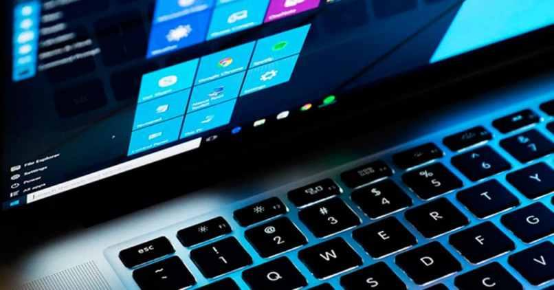 teclado pantalla inicio windows