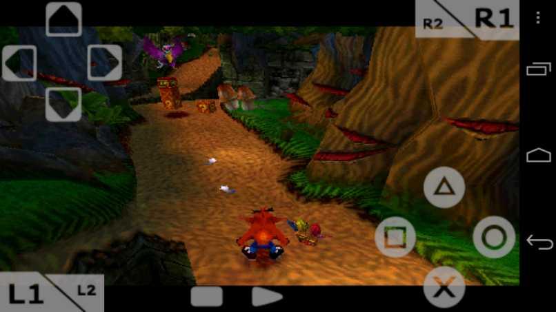 vista juego real celular