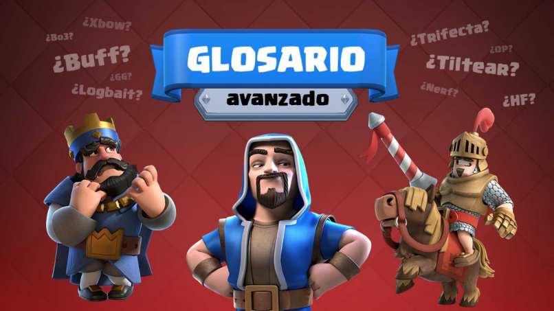 aprender palabras juego clash royale