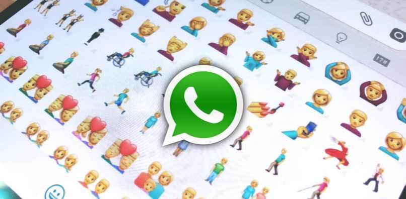 logo app fondo emojis