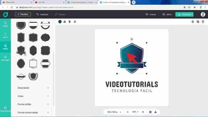 tutorial crear logo animado