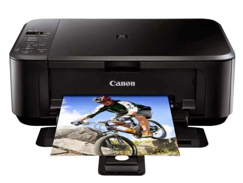imprimiendo foto ciclista