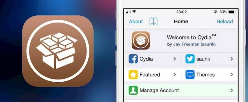 aplicacion cydia celular iphone blanco instalada