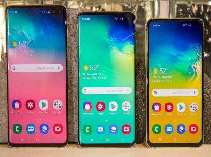 telefonos inteligentes de diferentes gamas y colores