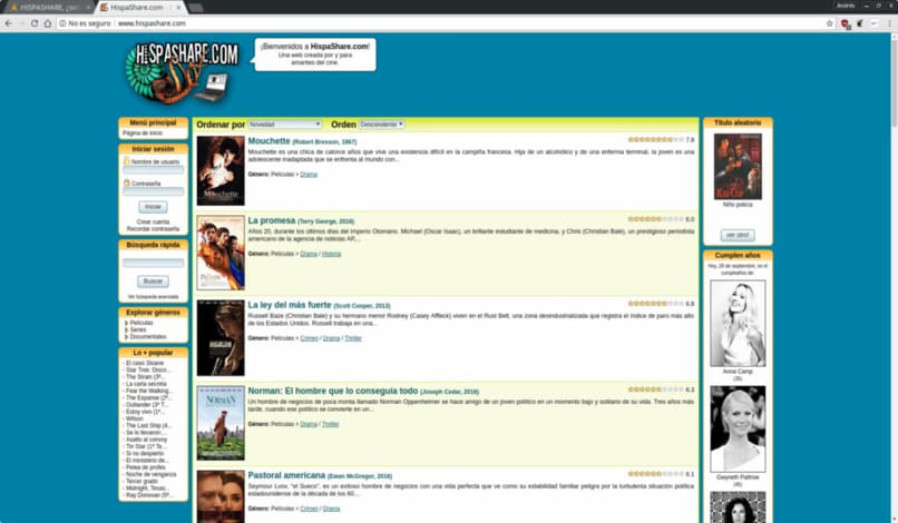 pagina p2p descargar torrents