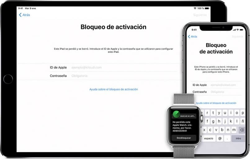 ipad iphone bloqueados