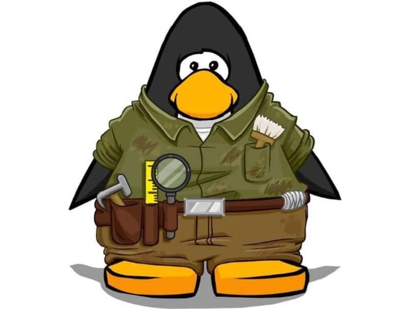 penguin preparado para jugar