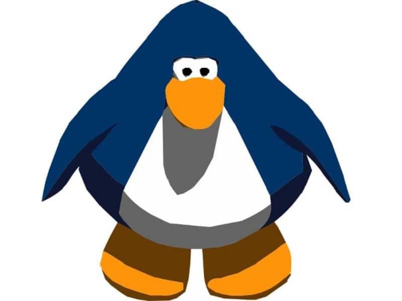 penguin listo para correr
