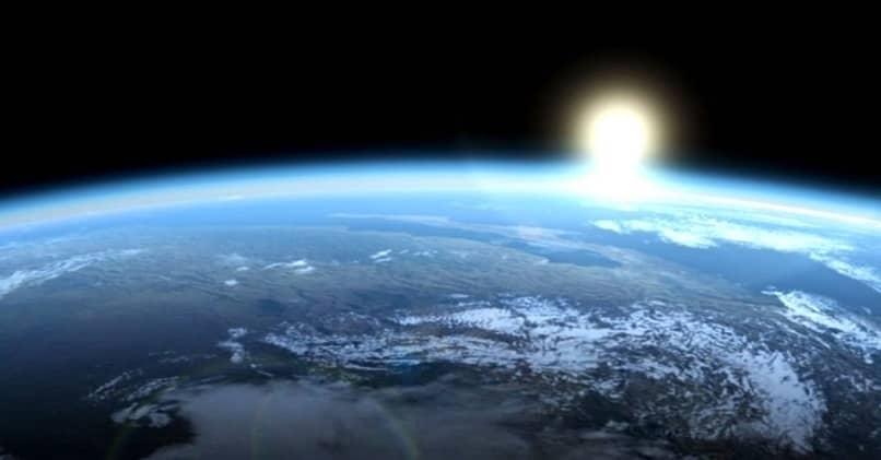 fondo de pantalla planeta tierra