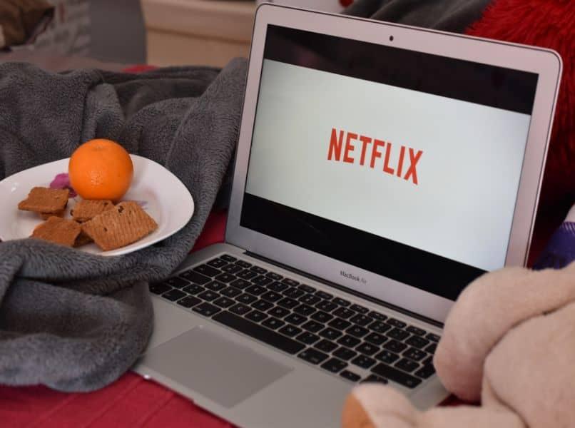 netflix en laptop