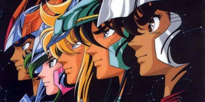serie anime caballeros del zodiaco