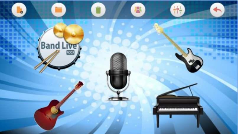 microfono guitarra piano