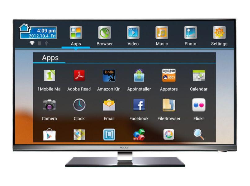 menu smart tv gris fondo blanco