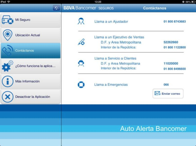 ventana bbva bancomer seguros auto alerta