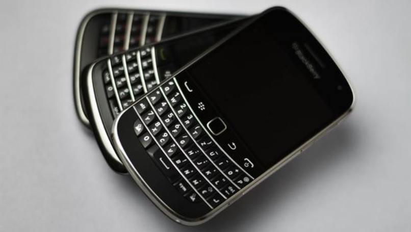celulares blackberry mismo modelo negros