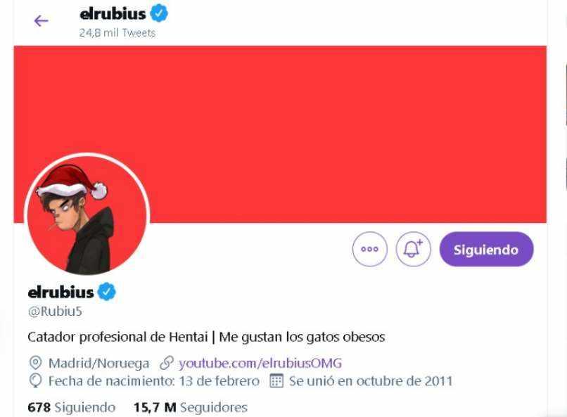 twitter el rubius omg youtuber espanol