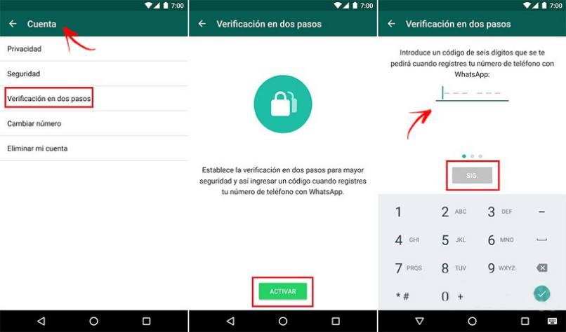 lograr verificar numero whatsapp