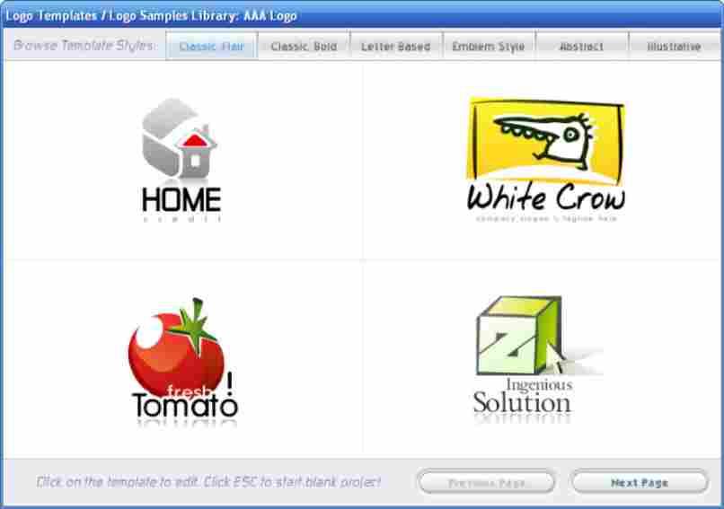 diferentes organizaciones logotipo