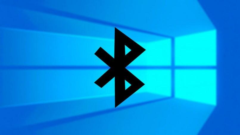fondo azul icono negro