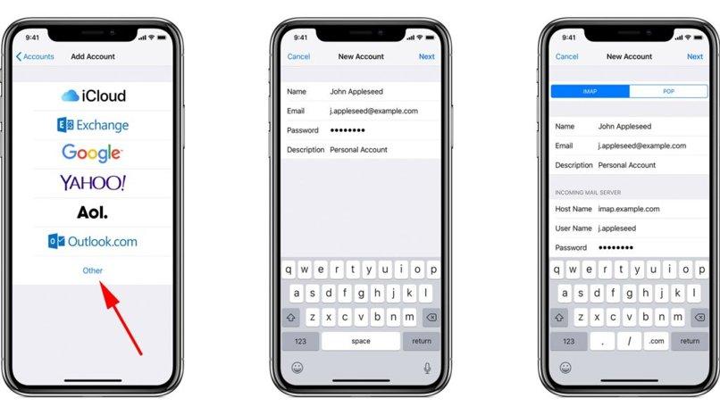 cuenta gmail add ipad