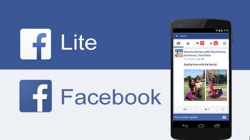 lite facebook movil