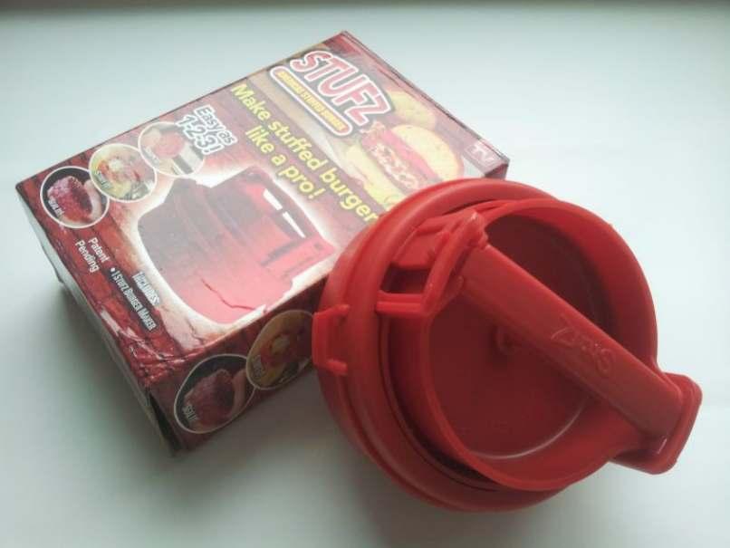 compacto utensilio rojo