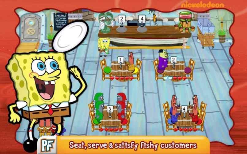 personajes fondo mar