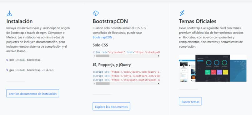 funciones bootstrap