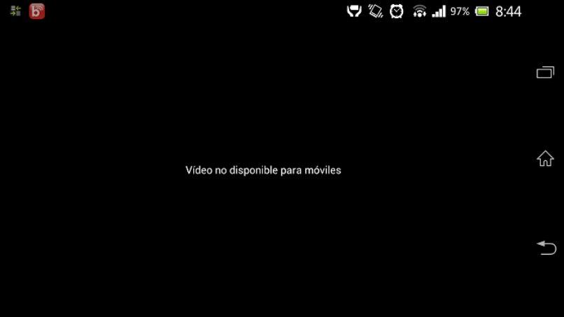 video problema reproducir