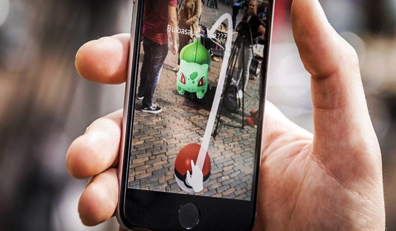 utiliza movil pokemon go