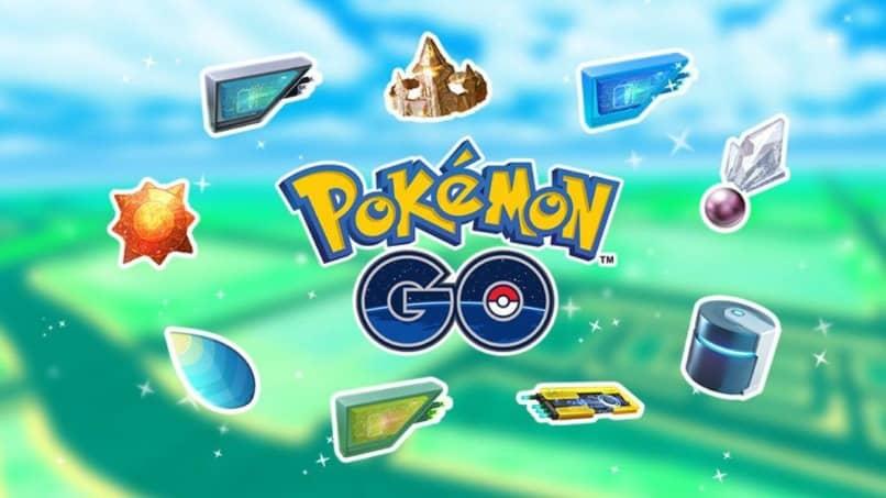 logo portada pokemon go objetos