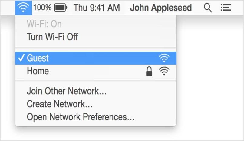 mac no conecta red internet
