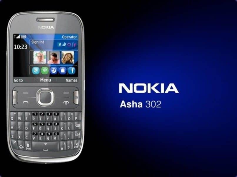 logo nokia asha 302