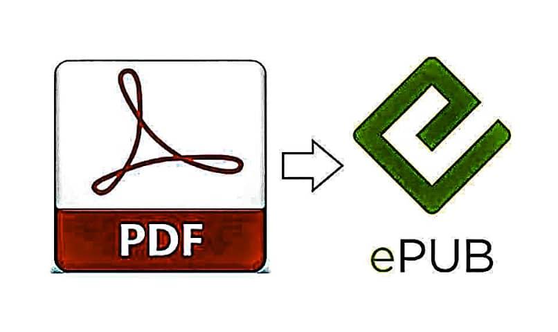 convertir pdf epub