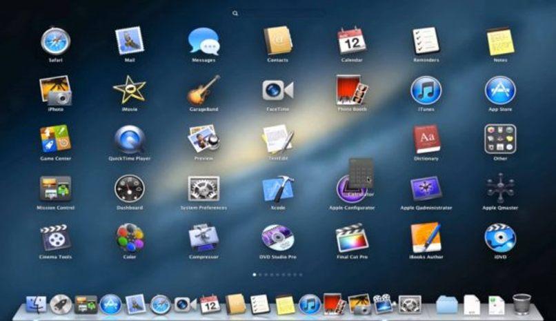 borrar app barra herramientas mac