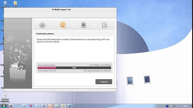 pantalla solucionar error security authentication lg l9