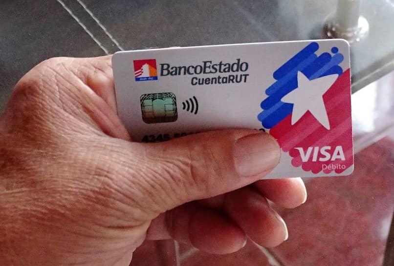 banco estado tarjeta debito cuenta rut
