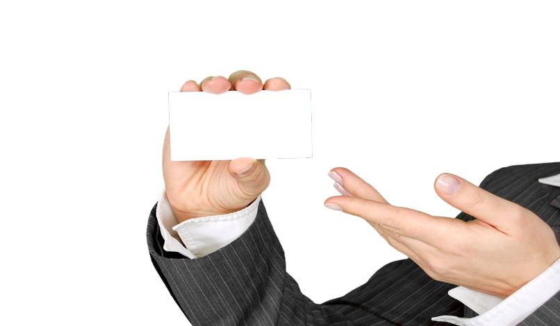 crear tarjeta visita