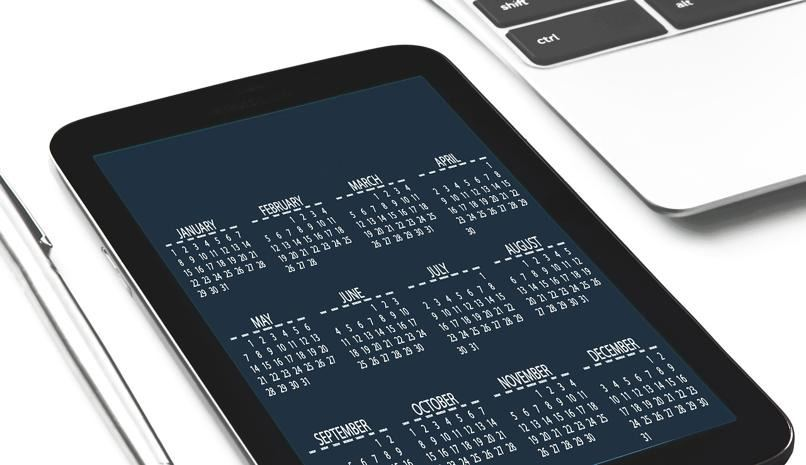 app agendas calendarios