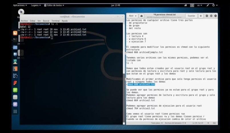cambiar permisos linux
